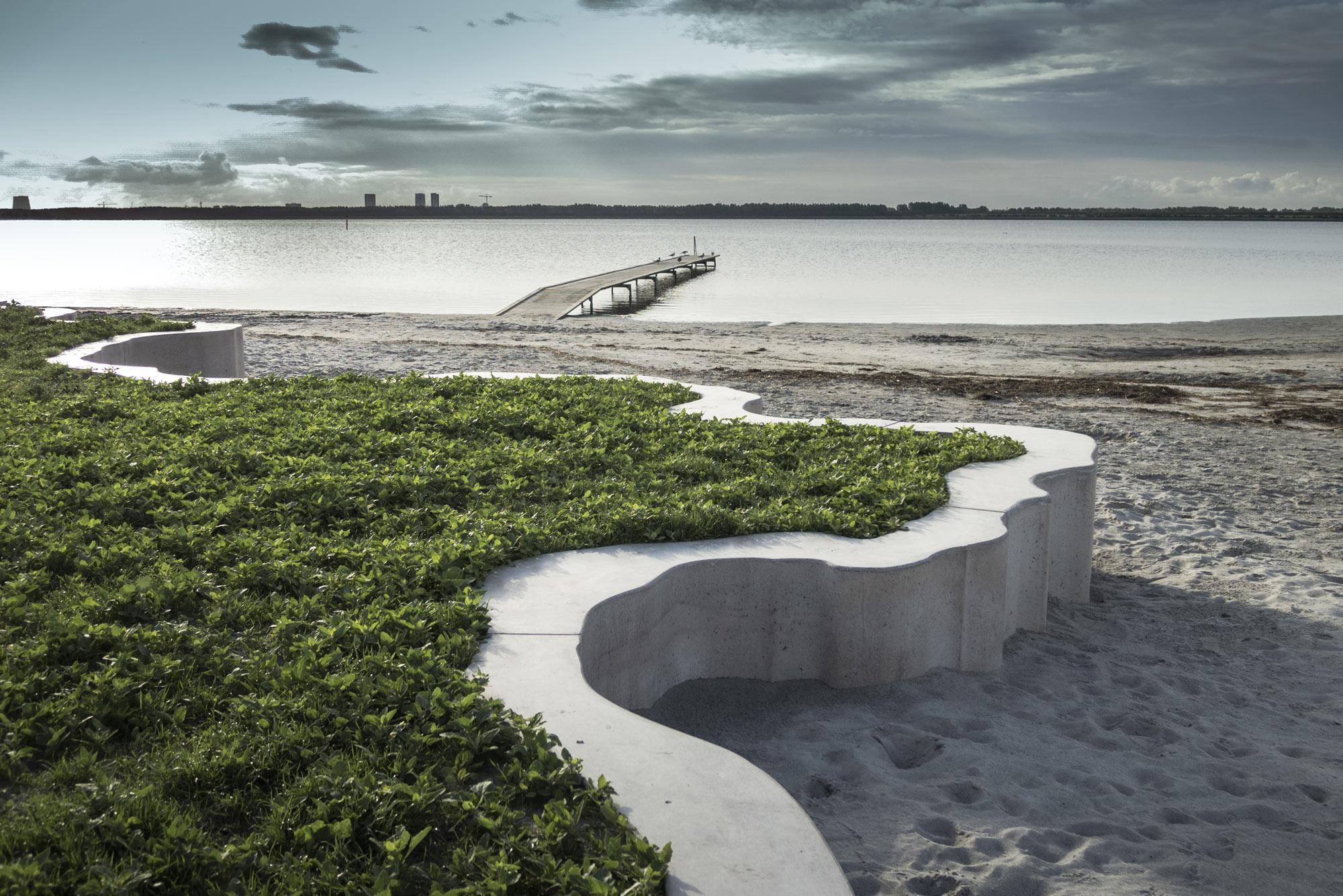 Hvidovre strand, VEGA landskab