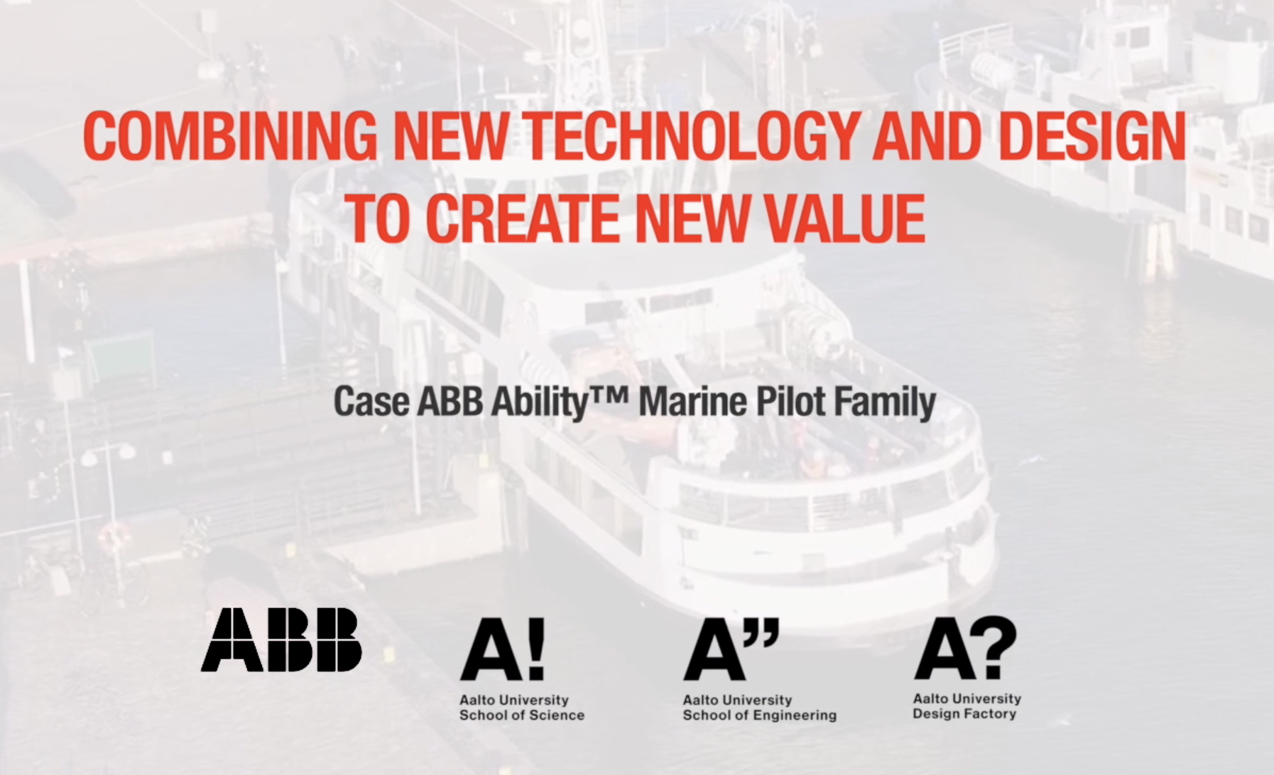 ABB case study used in the course
