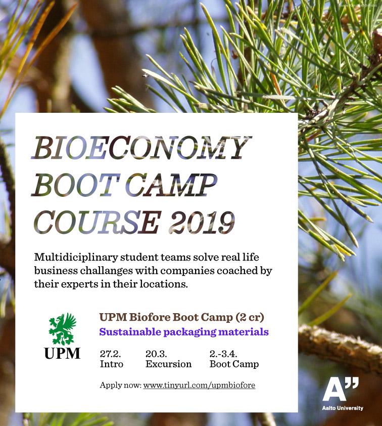 Bioeconomy Bootcamp UPM '19