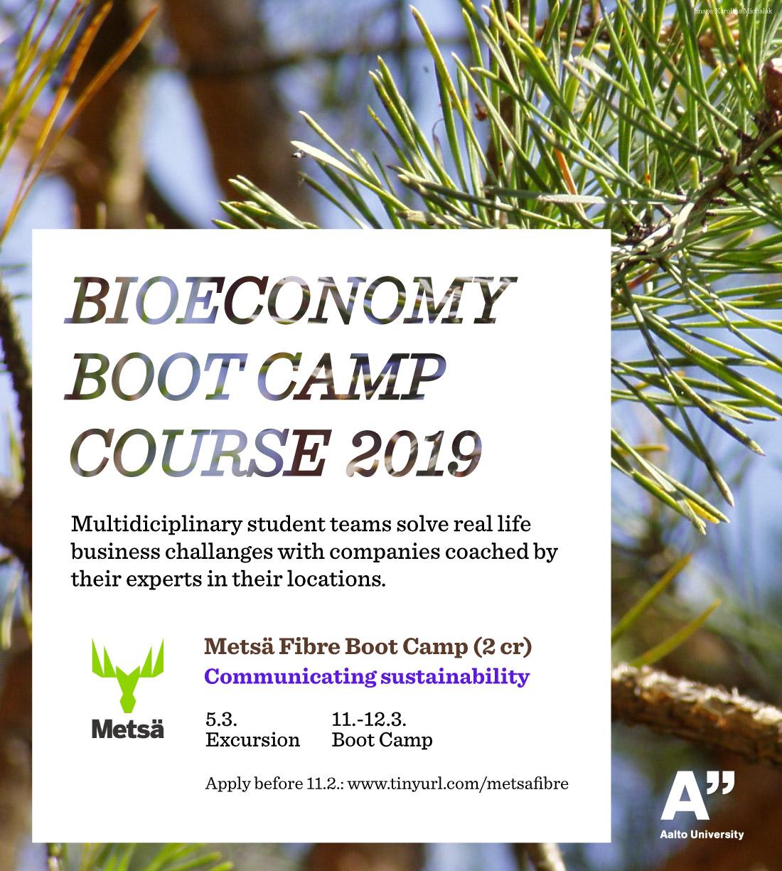 Bioeconomy Boot Camp, Metsä Fibre