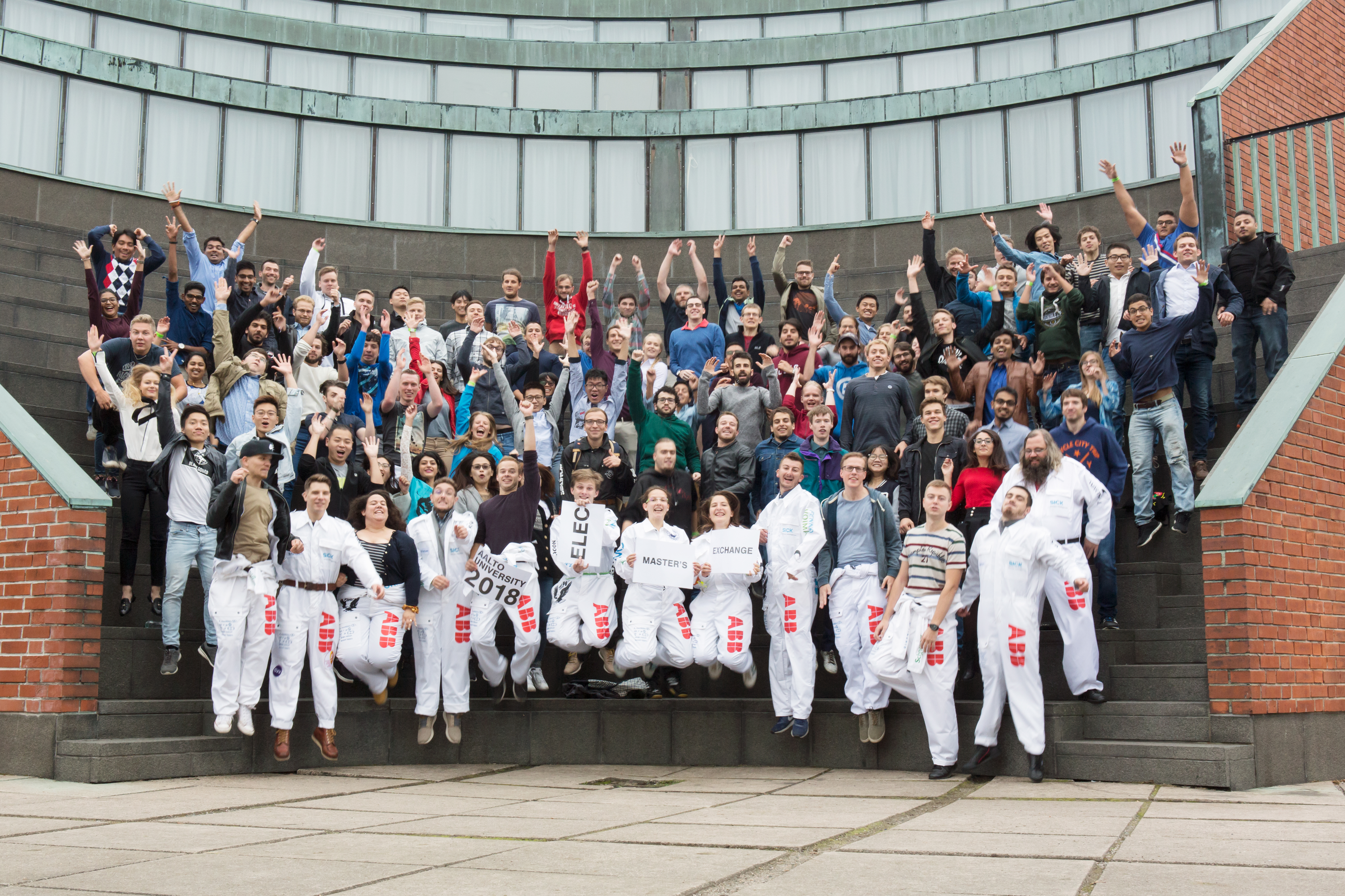 Aalto ELEC new students 2018 (photo by xx)